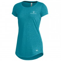 Ladies' Under Armour Threadborne Roving SS Longline Crew***Discontinued - Select sizes still available***