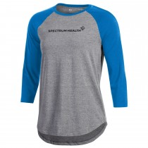 Ladies' Under Armour Charged Cotton Baseball Tee***Discontinued - Select sizes still available***