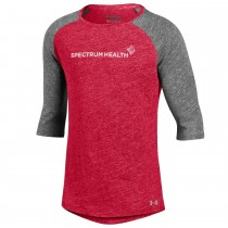 Girls Youth Triblend Baseball Tee***Discontinued - Select sizes still available***
